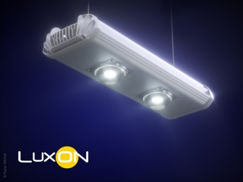 Визуализация led-светильника UniLED Eco Matrix Prom